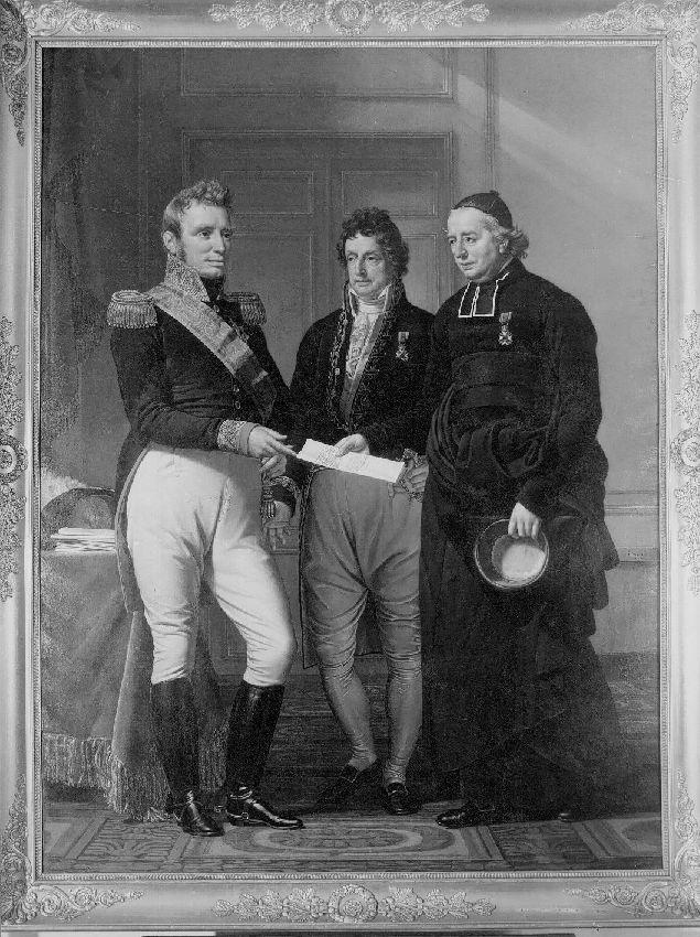 B036605 Overhandiging van het Smeekschrif voor de Gentse Begijnen aan Koning Willem I