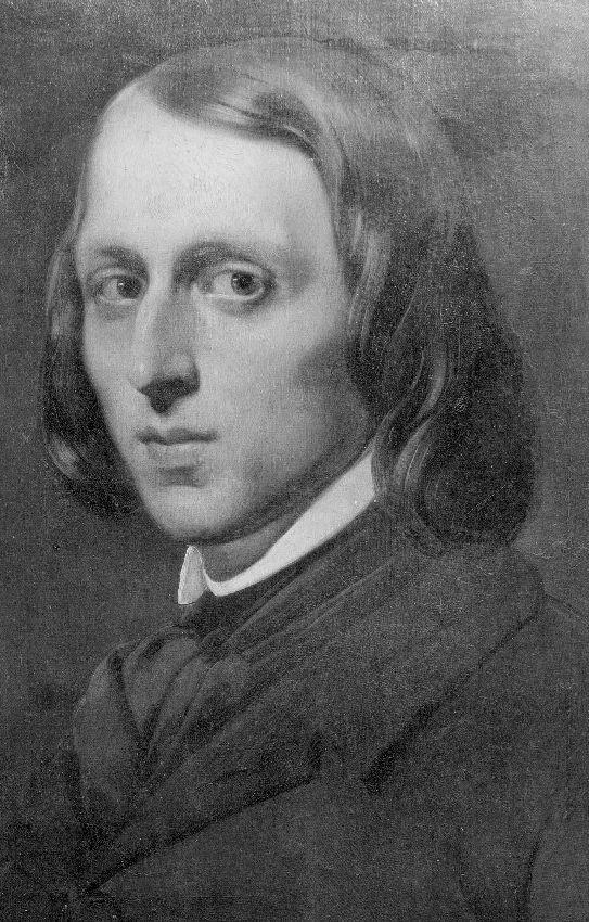 B040537 Portret van kunstschilder Gerard van der Ven