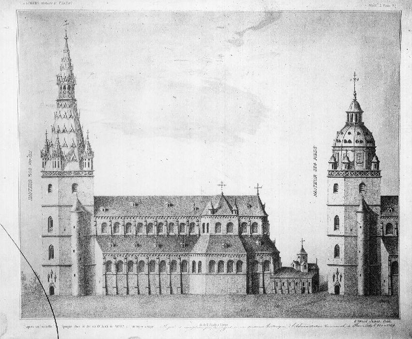 B054176 L'église de l'abbaye de Stavelot