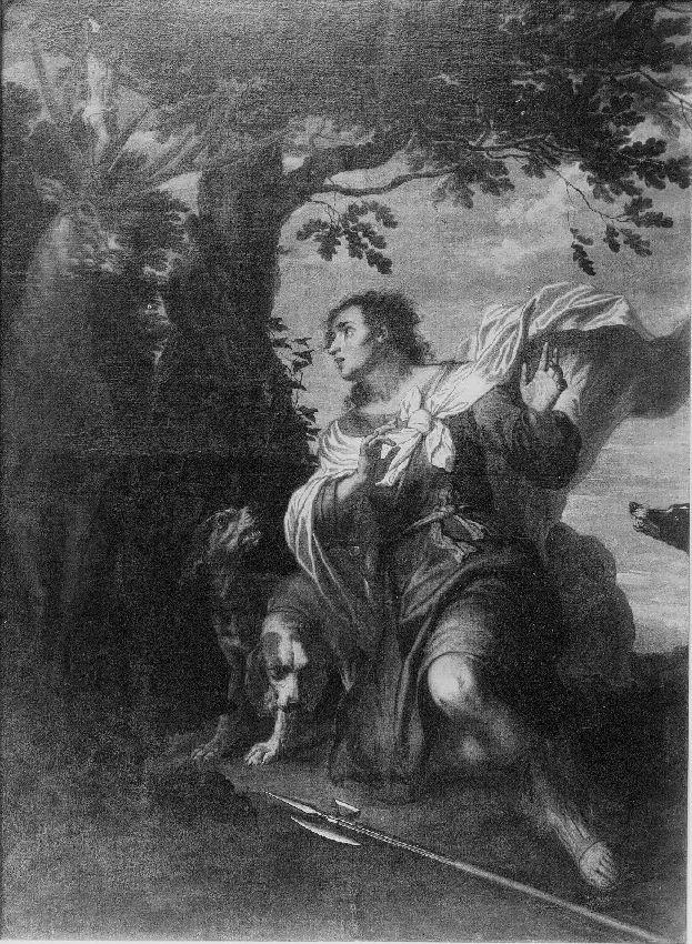 B086194 Bekering van H. Hubertus
