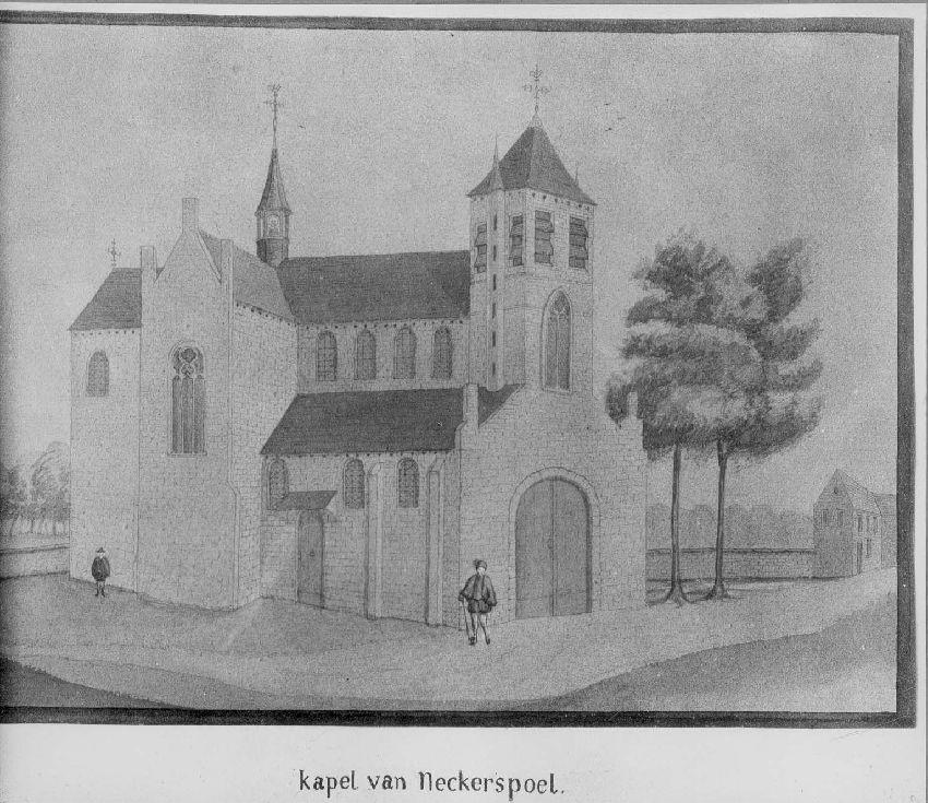 B092704 Kapel van Neckerspoel bij Mechelen