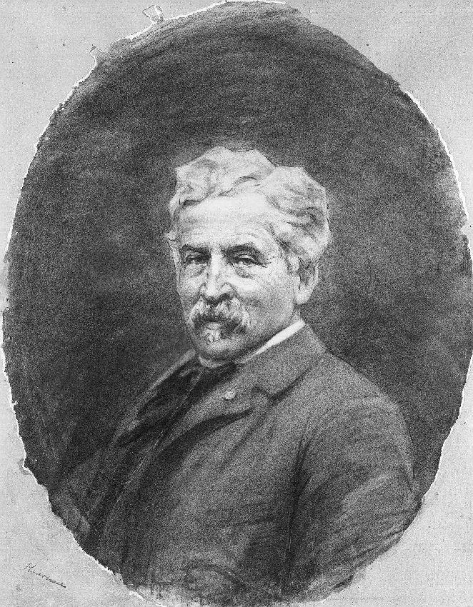B203228 Portrait de Victor Rousseau