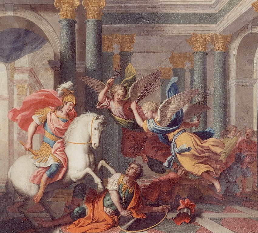 KM016404 Héliodore chassé du Temple