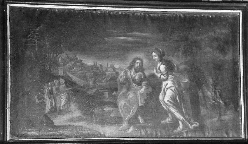 M035393 Jezus en de Samaritaanse vrouw bij de waterput