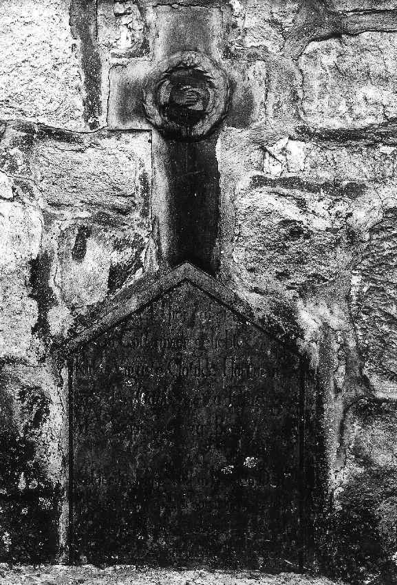 M057479 Croix funéraire d'Auguste-Clotilde Hoffman