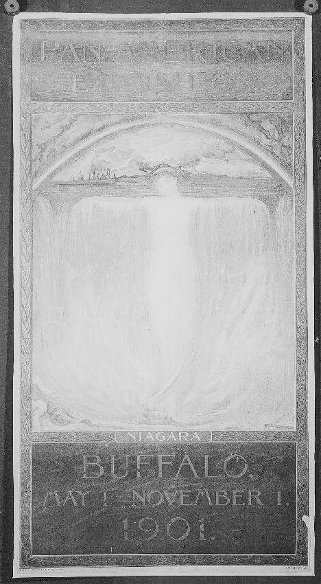 M128299 Pan-American Exposition, Niagara, Buffalo