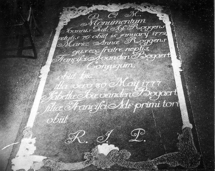 M204150 van Joannes Guil. Jos. Roggens (+1772)
