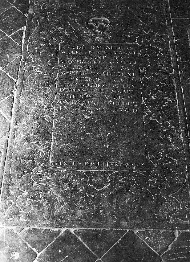 M224730 Dalle funéraire de Nicolas Wolff