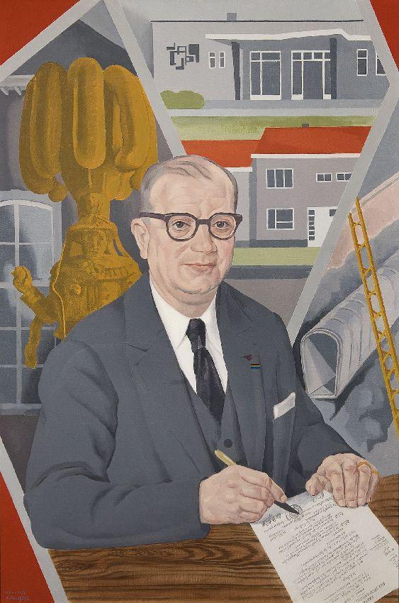 X007233 Portrait de Charles Deliège, sénateur-bourgmestre