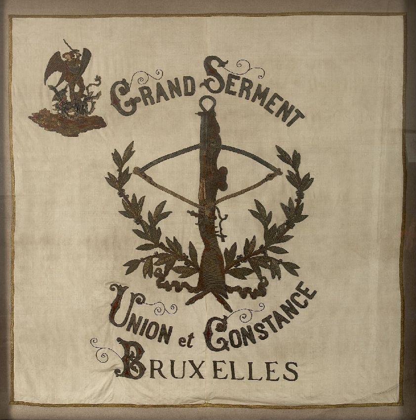 X032735 Drapeau de la Société Union et Constance