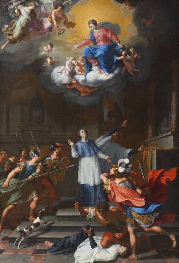 X071465 Martyre de saint Lambert